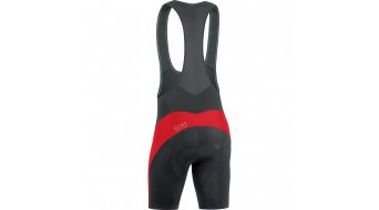 GORE Bike Wear Element Trägerhose kurz Herren-Trägerhose Bib Shorts+ (Element Men-Sitzpolster) Gr. S black/red