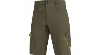 Gore vélo Wear Element pantalon court hommes-pantalon shorts (sans rembourrage) taille ivy green