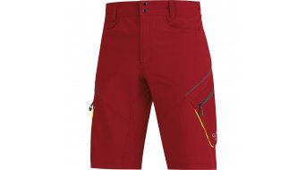 GORE Bike Wear Element Hose kurz Herren-Hose Shorts (ohne Sitzpolster) Gr. S ruby red
