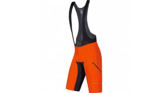 GORE Bike Wear Power Trail Hose kurz Herren-Hose MTB 2in1 Shorts+ (Power Trail Men-Sitzpolster) blaze orange