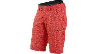 Pearl Izumi Launch 裤装 短 女士-裤装 MTB(山地) Shorts (Woman Tour 3D-臀部垫层) 型号 poppy red parquet