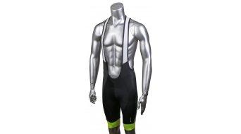 Specialized SL Expert 背带紧身裤 短 男士-背带紧身裤 Bib Short (含有臀部垫层) 型号 M grey/neon yellow team- Musterkollektion