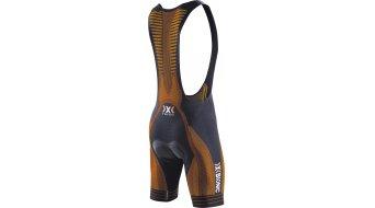 X-Bionic The Trick culote con tirantes corto(-a) Caballeros-culote con tirantes Bib Shorts (Endurance4000FX-acolchado) tamaño S negro/naranja