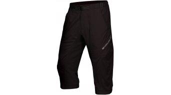 Endura Hummvee Lite pantalón 3/4-largo(-a) Caballeros-pantalón MTB (200-Series-acolchado) negro