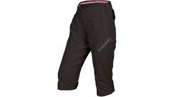 Endura Hummvee Lite pantalón 3/4-largo(-a) Señoras-pantalón MTB (200-Series-acolchado) negro