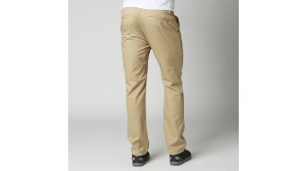 Fox Throttle pantalón largo(-a) Caballeros-pantalón Chino Pants tamaño 28 dark khaki