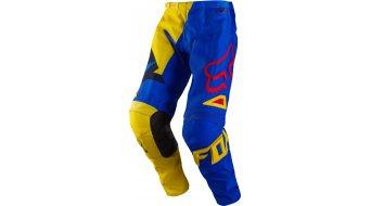 Fox 180 Vandal pantalón largo(-a) niños MX-pantalón Kids tamaño 104 (Y4) amarillo/azul