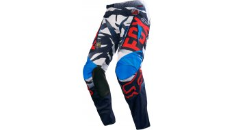 Fox 180 Vicious pantalón largo(-a) Caballeros MX-pantalón Pants tamaño 28 azul/blanco