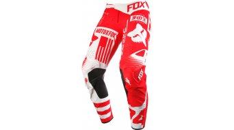 Fox Flexair Union pantalón largo(-a) Caballeros MX-pantalón Pants rojo
