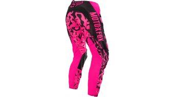 Fox 180 pantalón largo(-a) Señoras MX-pantalón Pants tamaño 32 (1/2) negro/pink