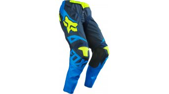 Fox 180 Race pantalón largo(-a) niños MX-pantalón Youth tamaño 122/128 (22) azul/amarillo