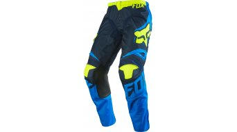 Fox 180 Race Hose lang Kinder MX-Hose Youth Gr. 140 (24) blue/yellow
