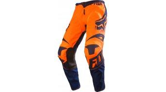 Fox 180 Race pantalón largo(-a) niños MX-pantalón Youth tamaño 140 (24) naranja/azul