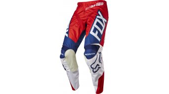 Fox 180 Honda Hose lang Herren MX-Hose Pants red/white