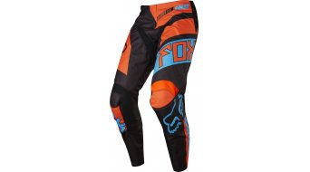 Fox 180 Falcon Hose lang Kinder MX-Hose Youth Pants black/orange