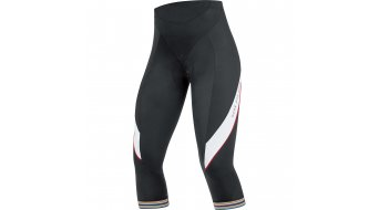 GORE Bike Wear Power 3.0 pantalón 3/4-largo(-a) Señoras-pantalón bici carretera Lady Tights 3/4+ (Power Women-acolchado) tamaño 36 negro/blanco