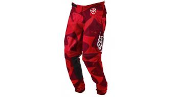 Troy Lee Designs SE Limited Cosmic Camo MX-pantalón tamaño 32 rojo