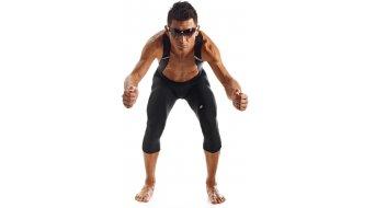Assos TK.tiburuKnickers vállpántos nadrág 3/4-hosszú férfi-vállpántos nadrág Bibknickers (équipe S7-ülepbetét) Méret L block black