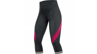 GORE Bike Wear Power 3.0 pantalón 3/4-largo(-a) Señoras-pantalón bici carretera Lady Tights 3/4+ (Power Women-acolchado) tamaño 38 negro/jazzy pink