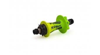 NS Bikes Rotary singlespeed disc- rear wheel hub 32h 10x135mm lime 2015