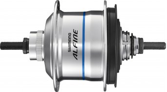 Shimano Alfine Di2 SG-S705 Disc buje de engranaje 11 marchas 36 agujeros Centerlock color plata