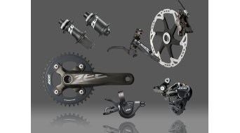 Shimano Zee HB-M640 Disc buje rueda trasera 32 agujeros 10x135mm E-Thru Centerlock