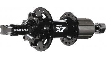 SRAM X7 Disc Hinterradnabe 32 Loch 9x135mm SRAM/Shimano Freilauf black/white