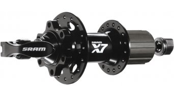 SRAM X7 Disc buje rueda trasera 32 Loch 9x135mm SRAM/Shimano Freilauf negro/blanco