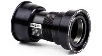 Hope PF46 acero fino Fatbike rodamiento/casquillo pedalier 128mm para 100mm-carcasa (para 30mm Wellen) negro