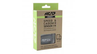 NC-17 Connect SC#4 Speed y cadencia sensor (con ANT+ y Bluetooth 4.0) negro(-a)