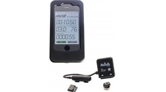 NC-17 Wahoo iPhone ANT+ set supporto incl. ANT+ sensore velocita-cadenza