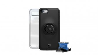 Quad Lock Bike Kit iPhone 把立/-车把基座 + 罩 有Haltevorrichtung black/blue