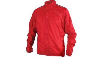 Endura Pakajak Jacke Herren-Jacke Rennrad Showerproof Ball Packed Gr. S red