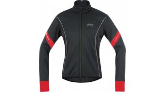 GORE Bike Wear Power 2.0 Jacke Herren-Jacke Rennrad Windstopper Soft Shell Gr. M black/red