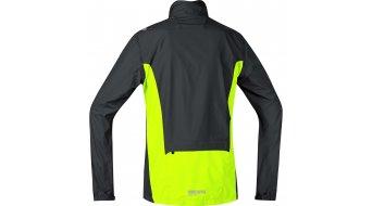 GORE Bike Wear Element Jacke Herren-Jacke Windstopper Active Shell Zip-Off Gr. S black/neon yellow