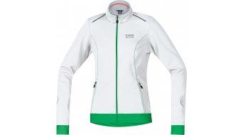 GORE Bike Wear Element Jacke Damen-Jacke Windstopper Soft Shell Lady Gr. 36 white/fresh green