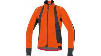 GORE BIKE WEAR Oxygen 夹克 男士-夹克 公路赛车 Windstopper Soft Shell 型号 blaze 橙色/black
