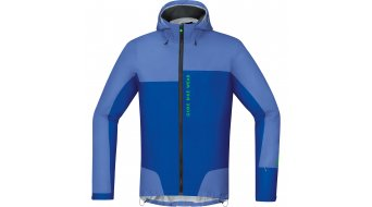 GORE Bike Wear Power Trail Jacke Herren-Jacke MTB Gore-Tex Active Shell Gr. S blizzard blue/brilliant blue