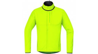 GORE Bike Wear Power Trail Jacke Herren-Jacke MTB Windstopper Soft Shell Thermo Gr. M neon yellow
