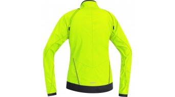 GORE Bike Wear Element Jacke Damen-Jacke Windstopper Active Shell Zip-Off Lady Gr. 34 neon yellow/black