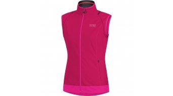 GORE Bike Wear Element Jacke Damen-Jacke Windstopper Active Shell Zip-Off Lady Gr. 34 jazzy pink/magenta