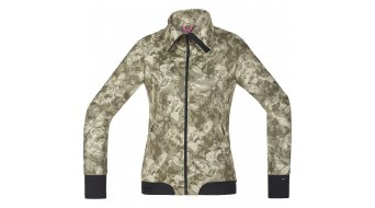 GORE Bike Wear Power Trail Print Jacke Damen-Jacke MTB Lady Windstopper Soft Shell camouflage
