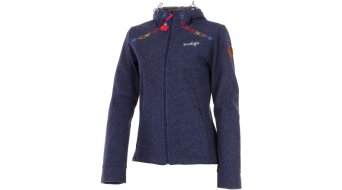 Maloja ladies- jacket Women aluminium dM. Bonded Wool cobalt