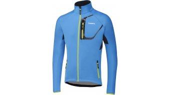Shimano invierno chaqueta Caballeros-chaqueta Softshell tamaño XL lightning azul
