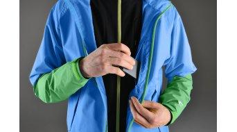 Shimano Storm Jacke Herren-Jacke Regenjacke Gr. S lightning blau/island grün