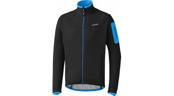 Shimano Winter Jacke Herren-Jacke Softshell black