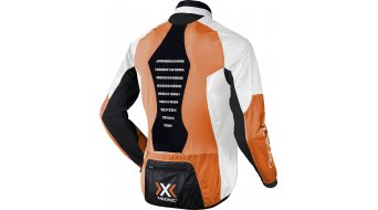 X-Bionic Spherewind Jacke Herren-Jacke Gr. S orange/white/black