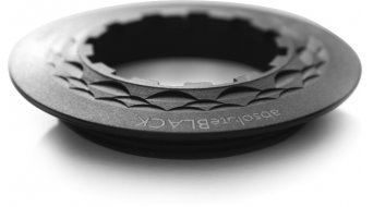absolute Black aluminio aro de cierre casetes para Shimano 13 dientes piñón negro(-a)