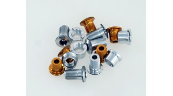 Tune Alu tornillos de platos juego para 3 velocidades dorado(-a) (en 15 piezas)