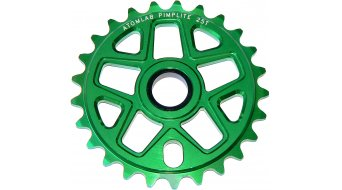 Atomlab Pimplite BMX chain ring 25T green